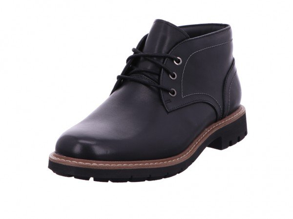 Bild 1 - Clarks Stiefel Kaltfutter Leather BLACK LEATHER 02