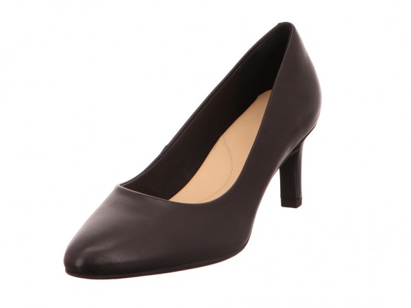 Bild 1 - Clarks Pumps Leather BLACK 02