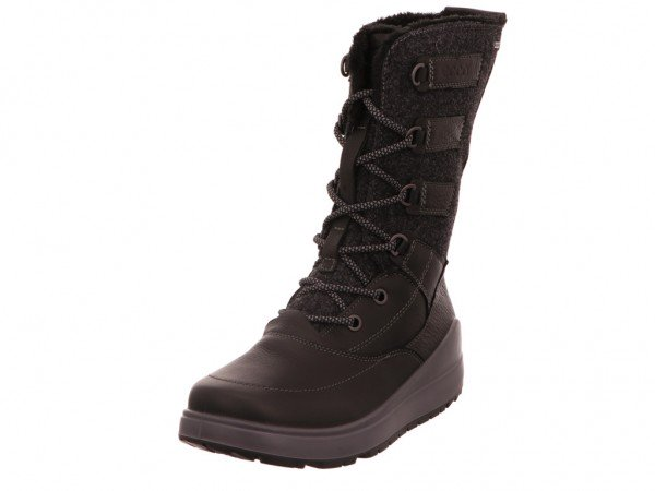 Bild 1 - Ecco Stiefel Warmfutter Quarry BLACK 02001