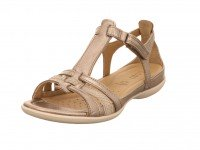 Ecco Sandale Lexi/Clodine 57462WARM GREY METALLIC/MOON R