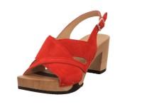 Softclox Sandalette Kaschmir rubin 01
