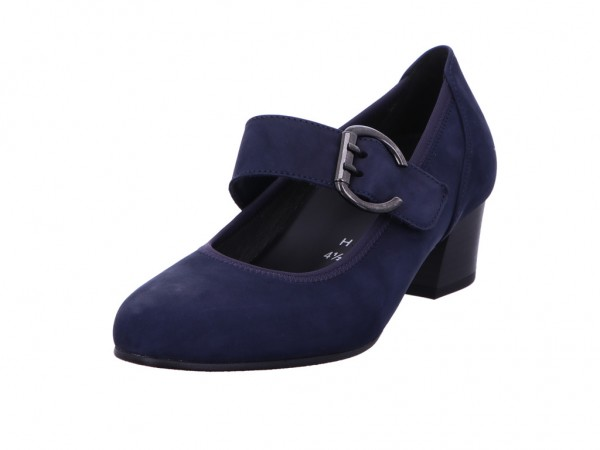 Bild 1 - Gabor Comfort Pumps Nubuk Soft blue 36