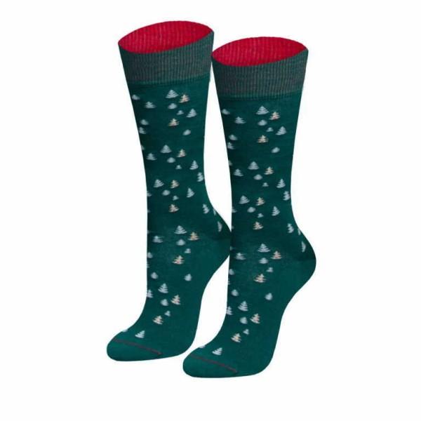 Bild 1 - von Jungfeld Damen Weihnachtsbaum/dunkelgrün