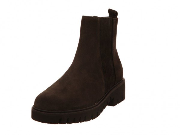 Bild 1 - Gabor Comfort Stiefeletten Dreamvelour dark-grey (Micro) 39