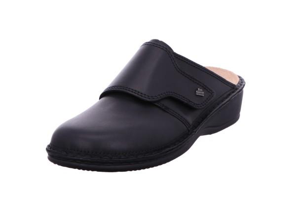 Bild 1 - Finn Comfort Comfortpantolette Glattleder schwarz