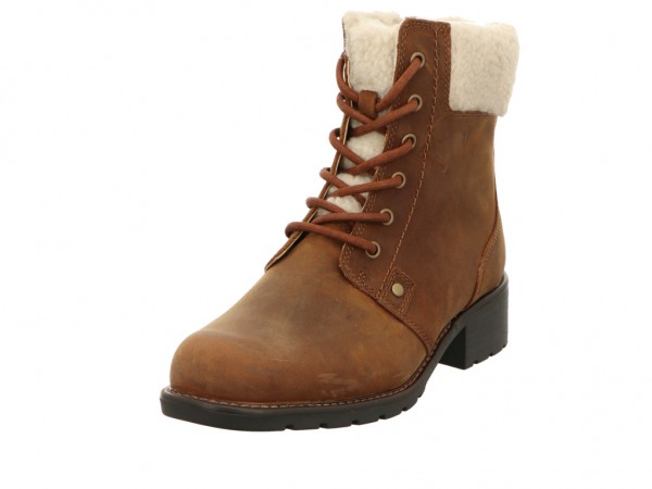 Bild 1 - Clarks Boots Leather TAN LEATHER 04